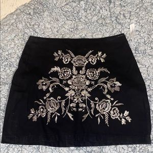TopShop Moto Skirt from Nordstrom